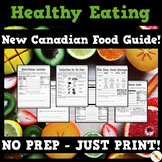Healthy Eating Unit - New Canada Food Guide!