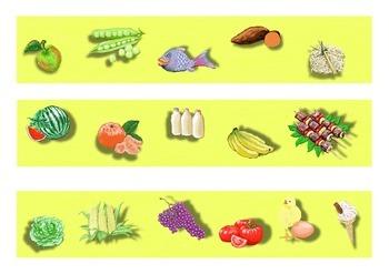 Healthy Eating Classroom Bulletin Board Display Border