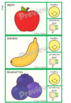Healthy Eating Clip Cards