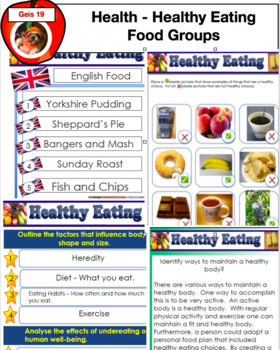 Healthy Eating - Food Groups PDF 85 Pages