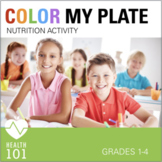 Elementary Health: Healthy Eating - Fruit and Vegetable / Nutrition Activity