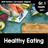 {Grade 1} Unit 1: Healthy Eating with Canada's Food Guide Activity Packet