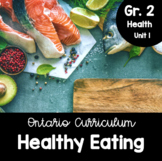 {Grade 2} Unit 1: Healthy Eating with Canada's Food Guide Activity Packet