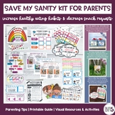 Healthy Eating Habits | Save My Sanity Kit for Parents