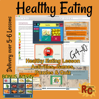 Healthy Eating Lessons (detailed teacher notes) Interactive