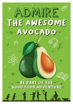 Healthy Eating Poster - Avocado