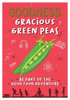 Healthy Eating Poster - Green Peas