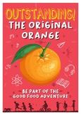 Healthy Eating Poster - Orange