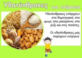 Healthy Eating Posters (in Greek)