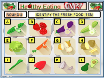 Healthy Eating Quiz - HEALTH AND PHYSICAL EDUCATION