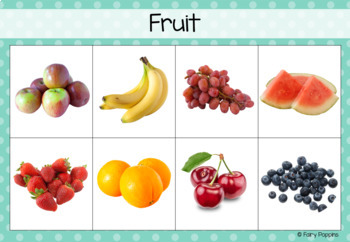 Healthy Eating Sort & Classify