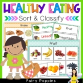 Healthy Eating Sort & Classify {Nutrition}