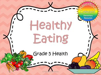 Healthy Eating Task Cards (Grade 5)