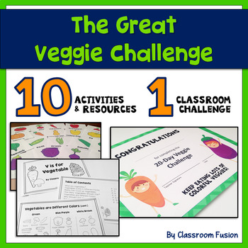 Healthy Eating: The Great Vegetable Challenge  (K-2)