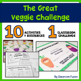 Healthy Eating and Nutritional Activities and Printables: Vegetable BUNDLE (K-2)