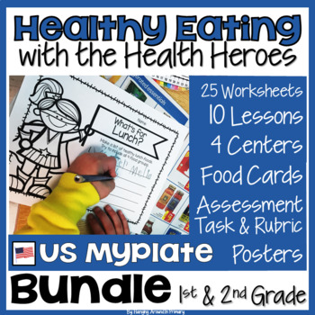 Healthy Eating Unit - US Edition BUNDLE