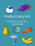 Healthy Eating Unit - Based on Canada's Food Guide