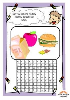 Healthy Eating Workbook