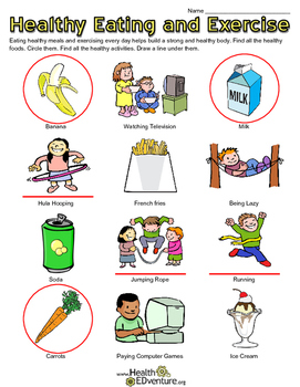 Healthy Habits: Eating and Exercise