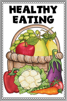 Healthy Eating and Nutrition for Kids Mini Booklets