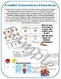 Healthy Expression of Emotions & Self Control Bundle; Identify feelings calming+
