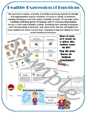 Healthy Expression of Emotions & Self Control Bundle; Iden