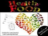 Healthy Food - PreK to G2 - Science