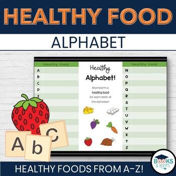 Healthy Food Alphabet