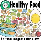Healthy Food Bento ClipArt
