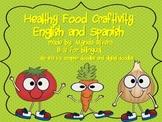 Healthy Food Craftivity English & Spanish