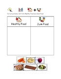 Healthy Food/Junk Food Sort