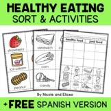 Healthy Foods Sort Activities