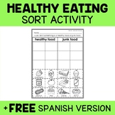 Healthy Foods Sorting Activity