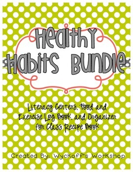Healthy Habits Activities Bundle