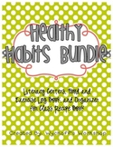Healthy Habits Activities Bundle