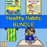 Healthy Habits BUNDLE with Songs and Rhymes and Healthy Me! Lotto