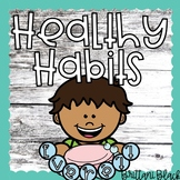 Healthy Habits Bulletin Board | Handwashing Craft