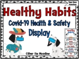 Healthy Habits | Covid-19 Health & Safety Display | Paws D