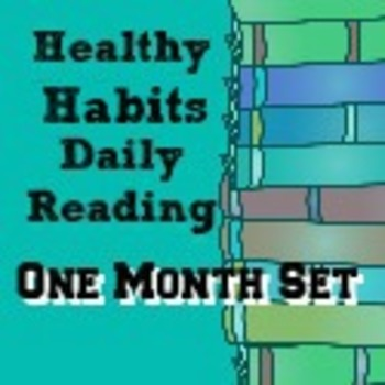 Healthy Habits: Daily Reading