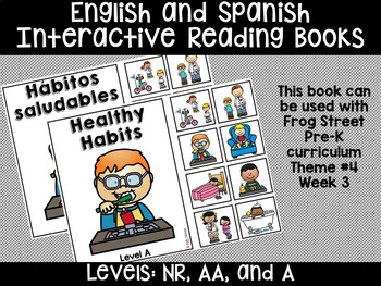 Healthy Habits Eng & Span Interactive Reading Books Can Be Used With Frog Street