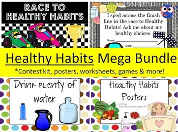 Healthy Habits Mega Bundle Food Groups Fitness 100+ pages!