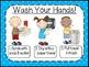 Healthy Habits Posters-Polka Dots