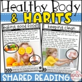 Healthy Habits Shared Reading Passages (Take Home Packet)
