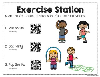 Healthy Habits Stations, Eating Healthy, Doctor, Dentist, Exercise {K, 1, 2}