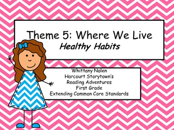 Healthy Habits: Storytown's Extending the CCRS Reading Adv