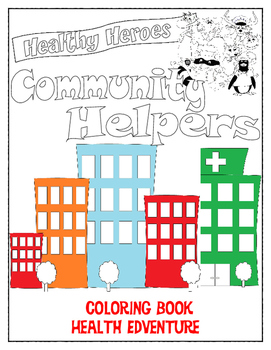 Healthy Habits Coloring Book