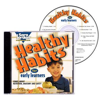 Healthy Habits Songs, (Nutrition, Anatomy, Hygiene) - Digital Download w/ Lyrics