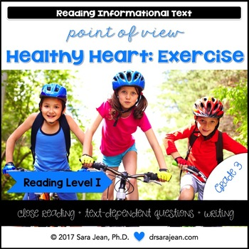 Healthy Heart: Exercise • Reading Comprehension Passages and Questions • RL I