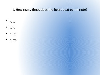 Healthy Heart Trivia (w/ Answers)