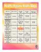 Healthy Hygiene Habits Bingo